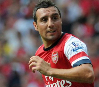 Santi-Cazorla Arsenal