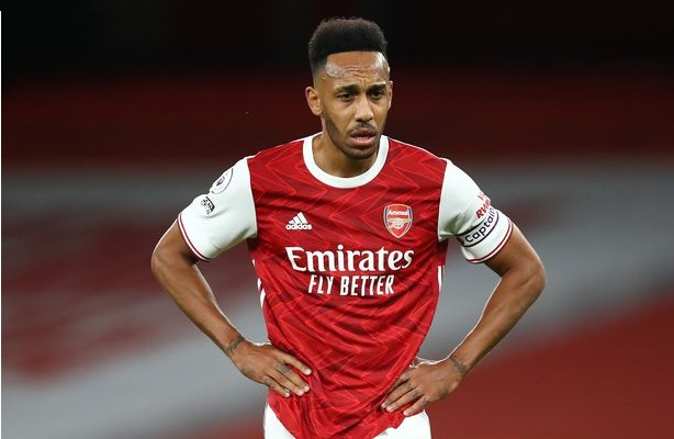 pierre-emerick aubameyang arsenal 2020